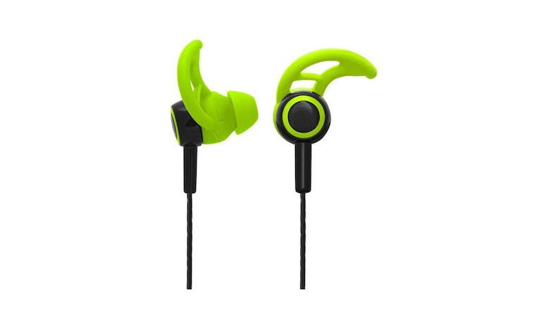 CLiPtec BSE200 XTION-FIT Sports Earphone with Mic - Green