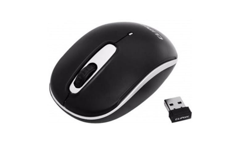 CLiPtec RZS854 Wireless Optical Mouse - Silver_01