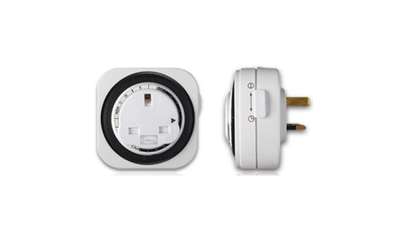 LEMAX 24-Hour Plug In Timer - White