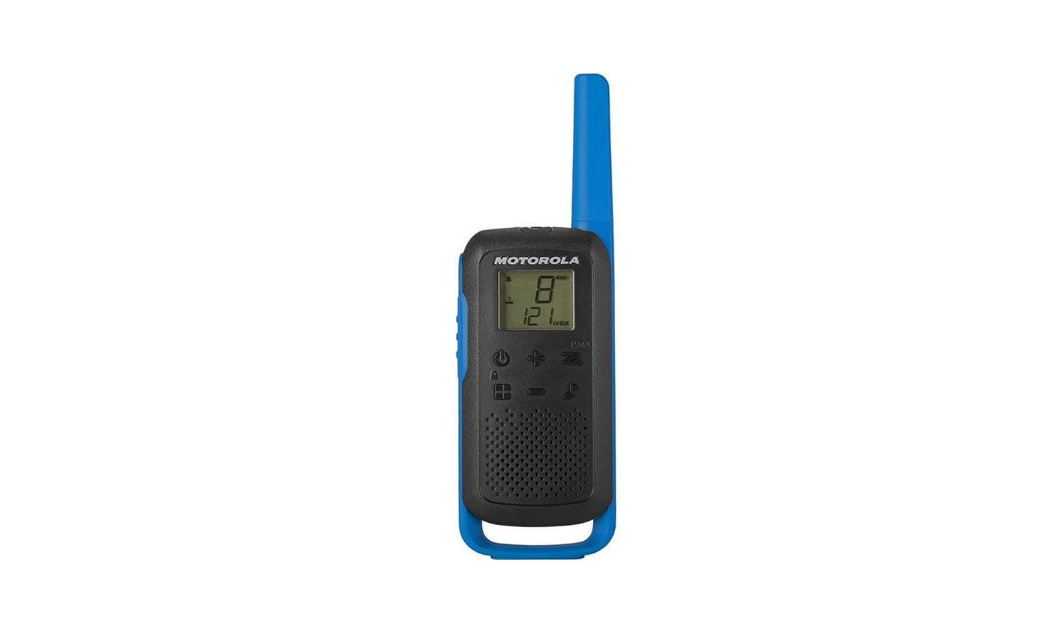 Motorola T62 Walkie Talkie 8KM 16CH - Blue&Black