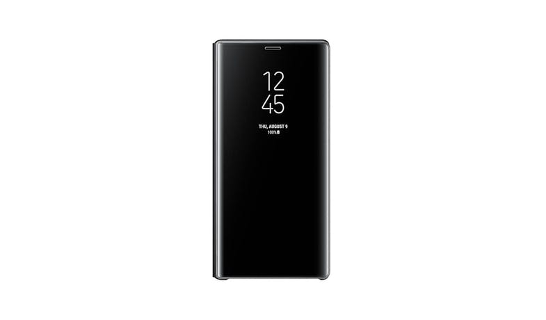 Samsung Galaxy Note9 Clear View Standing Cover - Black-01