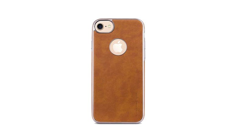 Uniq Glacier Luxe IPhone 7 Case - Camel Brown001