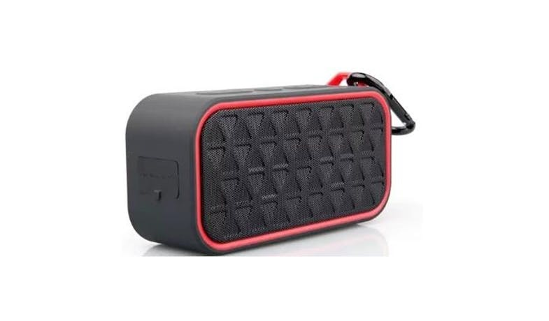 Vinnfier Neo Boom Bluetooth Speaker - Black Red