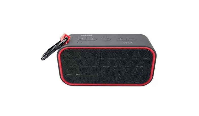 Vinnfier Neo Boom Bluetooth Speaker - Black Red01