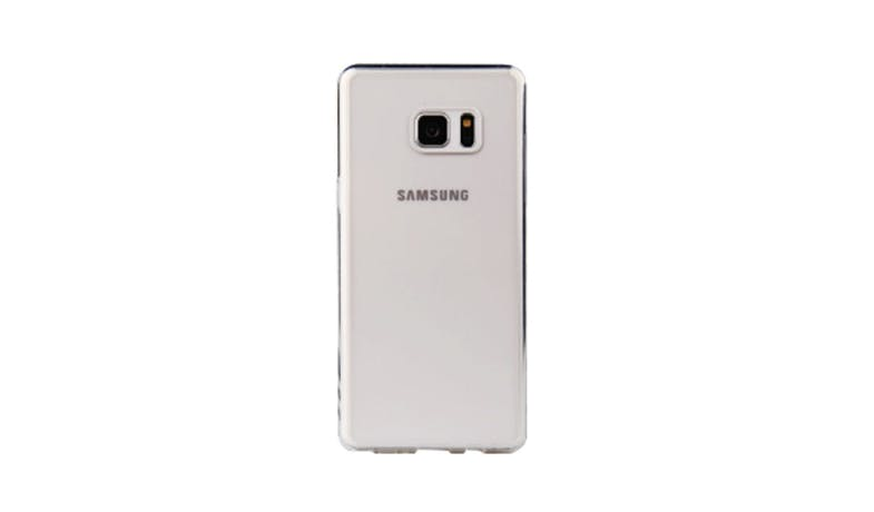 Viva Hibrido Back Case  For Galaxy Note FE - Clear_01