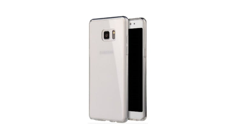 Viva Hibrido Back Case  For Galaxy Note FE - Clear_02
