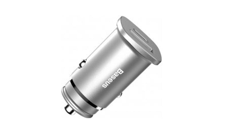 Baseus CCALL-AS0S Car Charger - Silver_001