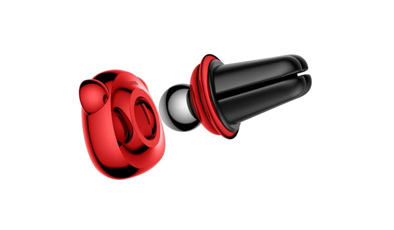 Baseus SUBR-A09 Magnetic Car Mount Holder - Red 02