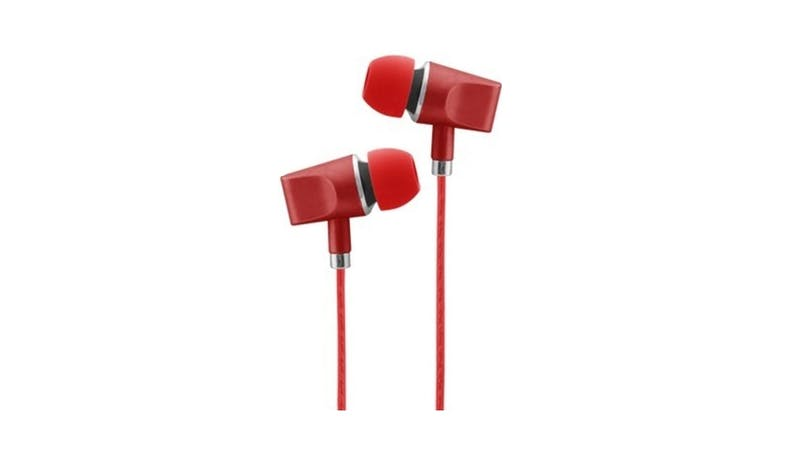 CLiPtec BME636 In-Ear Headphone With Mic - Red 02