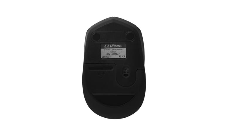 CLiPtec Innovif 1600dpi Wireless Optical Mouse - Black 02