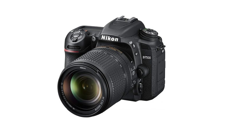 Nikon D7500 20.9MP 18-140mm  Digital SLR Camera - Black 02