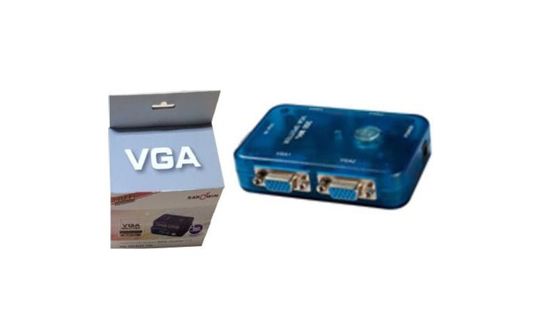 Sarowin 35M VGA 1 IN TO 4 OUT 350MHZ Spliters - Blue