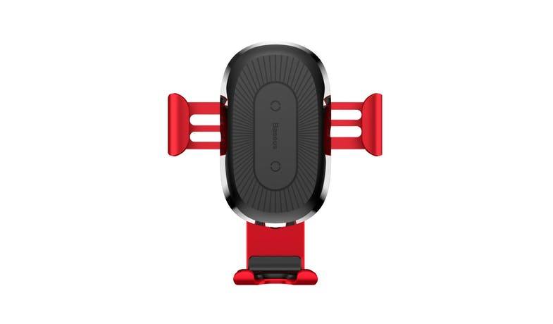 Baseus WXYL-09 Wireless Gravity Car Charger - Red-02