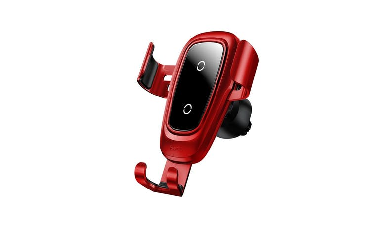 Baseus WXYL-09 Wireless Gravity Car Charger - Red-01