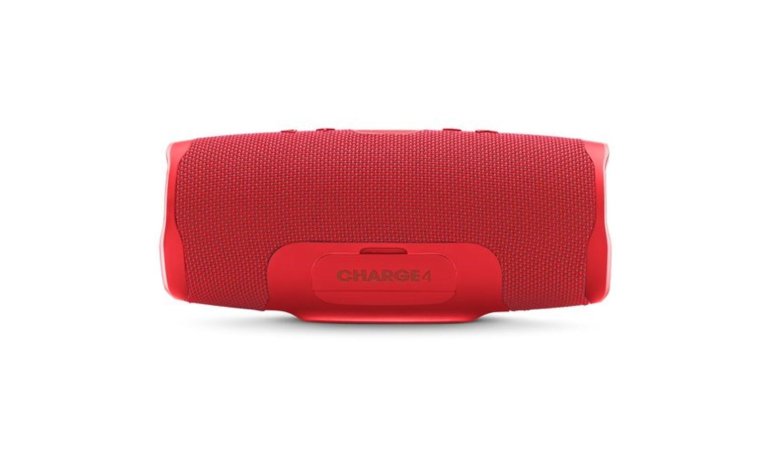 JBL Charger 4 Portable Bluetooth Speaker - Red