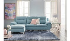 Solo 2 Seater + RHF Fabric Sofa