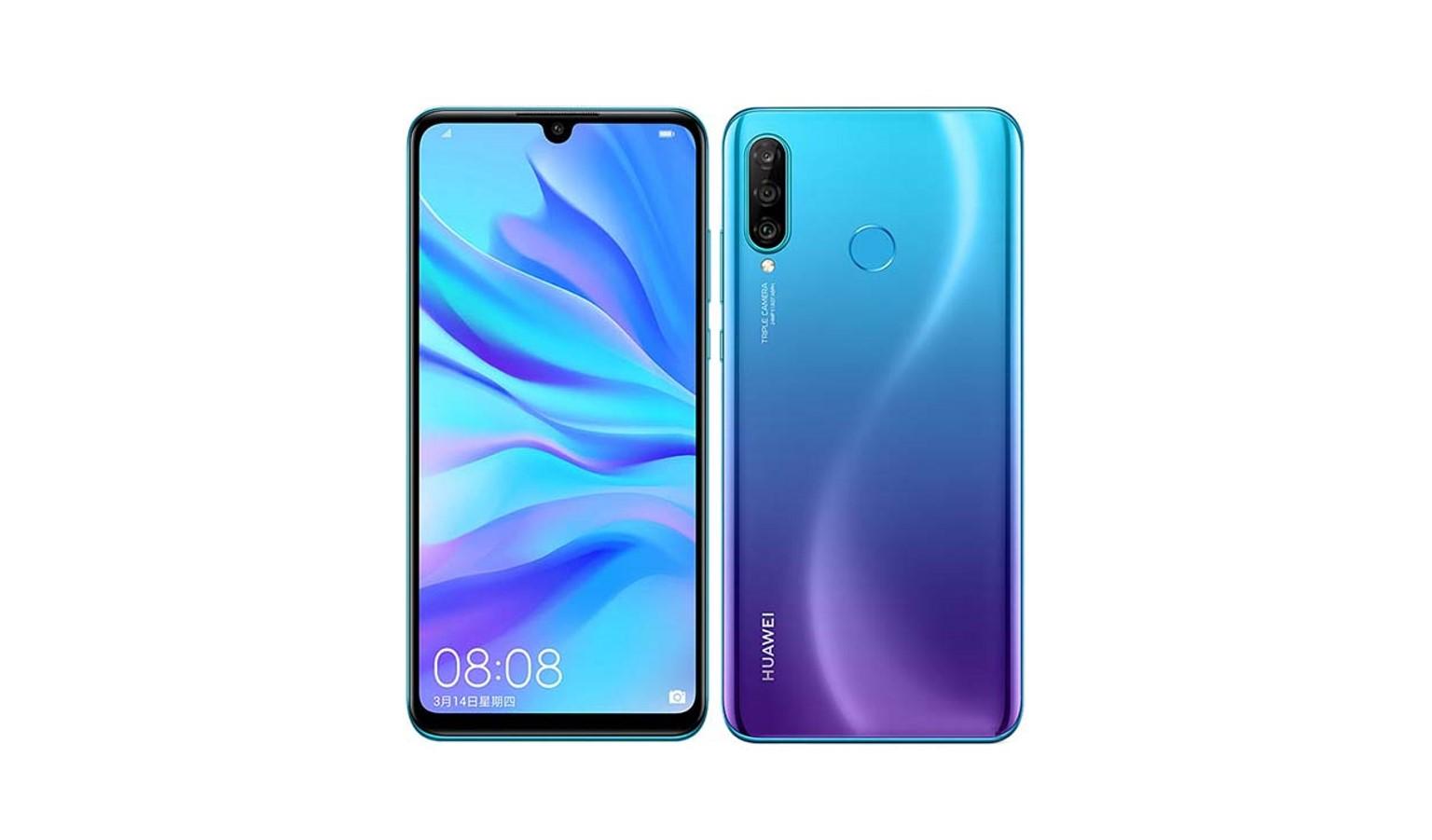 "Huawei Nova 4E 6.15"" 6GB 128GB Smartphone - Peacock Blue"