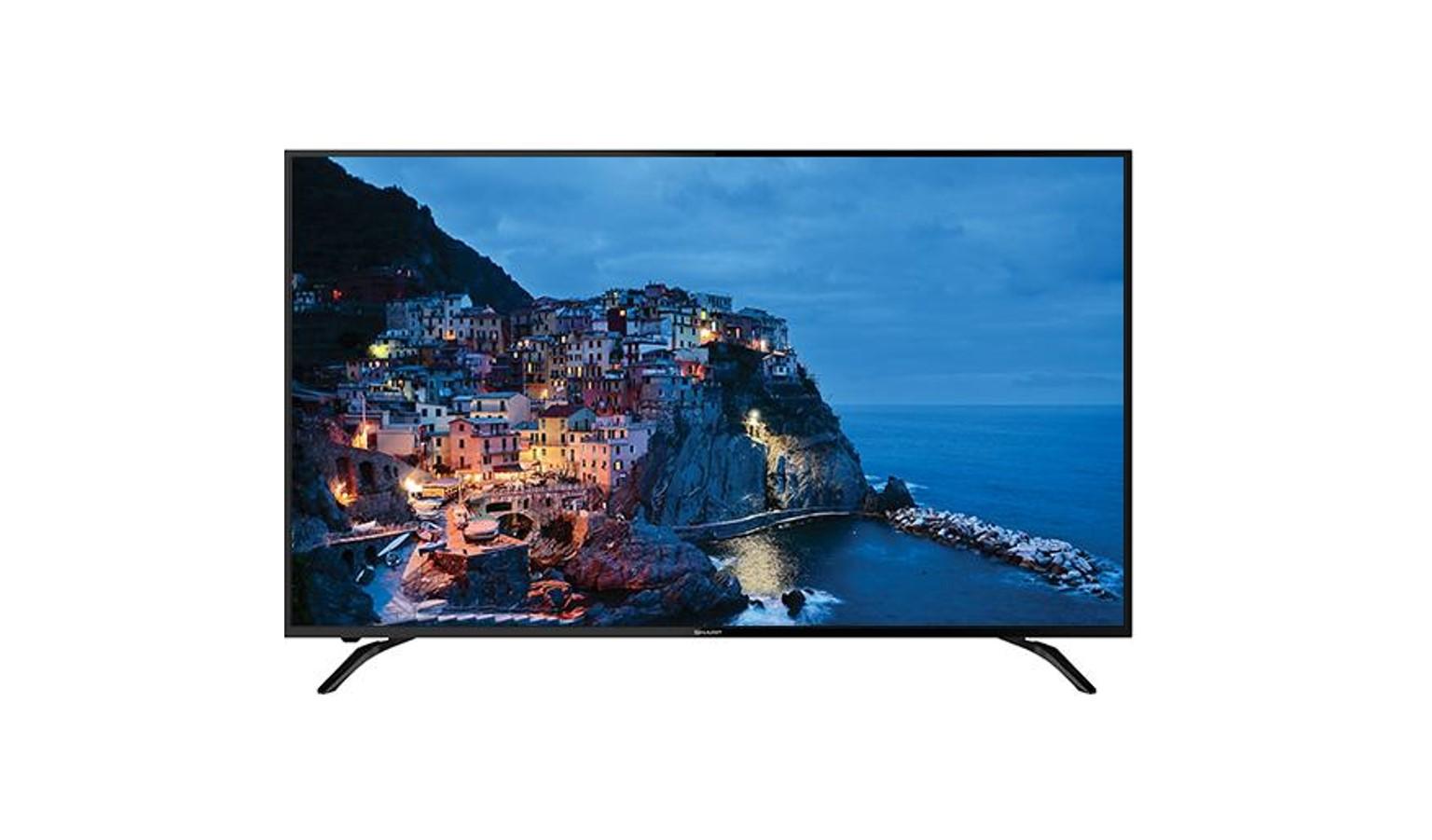 "Sharp 4TC60AH1X 60"" 4K UHD Easy Smart TV - Black"