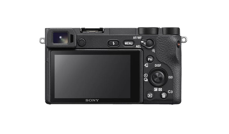 Sony Alpha a6500 Mirrorless Digital Camera with 18-135mm Lens (Back)