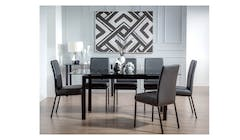 Wyatt 6+1 Pieces Dining Set
