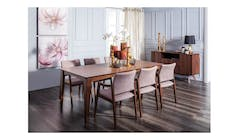 Capela 7 pcs Dining Set