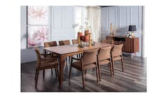 Capela 1+8 Pcs Dining Set