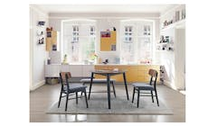 Jana 1+2 bench Chair Dining Set