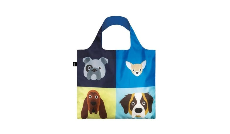 Loqi Artist Stephen Cheetham Dogs tote bag-01