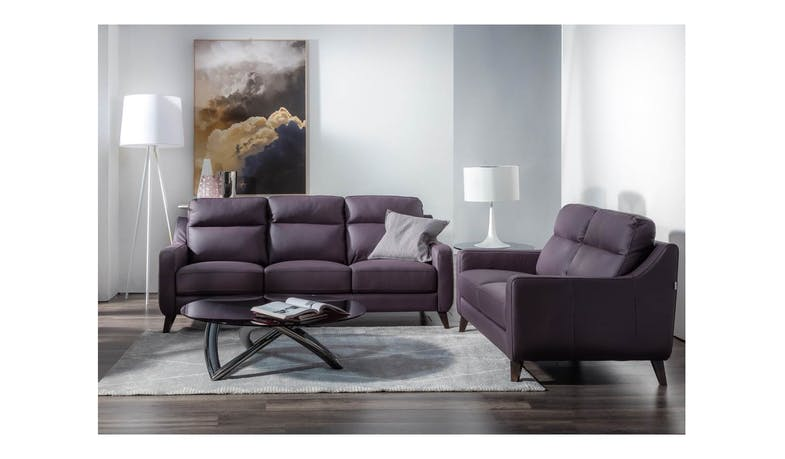 Cuborosso Borgo Full Leather 3 Seater Sofa