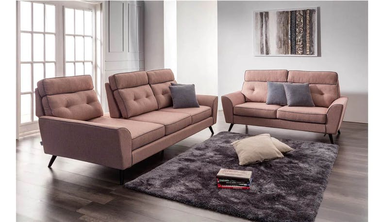 Pasco Deluxe Fabric 3 Seater Sofa
