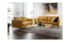 Canary Full Leather 2.5 + 2 Seater Sofa