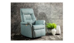IMG Chelsea Fabric Power Recliner With USB Function