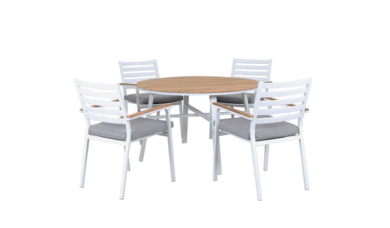 Concorde 1 + 4 Pieces Outdoor Dining Set