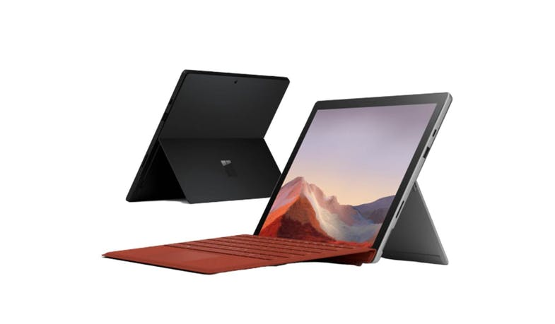 Microsoft Surface Pro 7 (Core i5, 8GB/256GB) - Matte Black (Front)