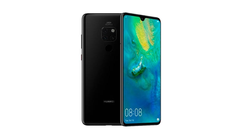Huawei Mate 20 (6+128 GB) 6.53-inch Smartphone - Black (DEMO) (Overview)