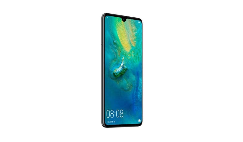 Huawei Mate 20 (6+128 GB) 6.53-inch Smartphone - Black (DEMO) (Side)