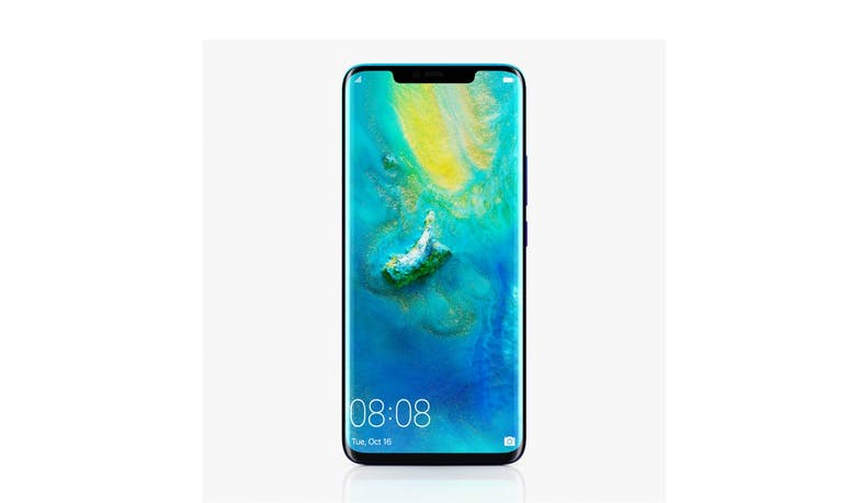 Huawei Mate 20 Pro (6+128 GB) 6.53-inch Smartphone - Twilight (DEMO) (Front)