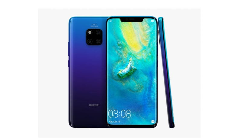 Huawei Mate 20 Pro (6+128 GB) 6.53-inch Smartphone - Twilight (DEMO) (Overview)
