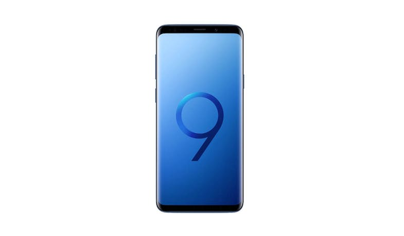 Samsung Galaxy S9+ 64GB Smartphone - Coral Blue (Demo unit) - Front