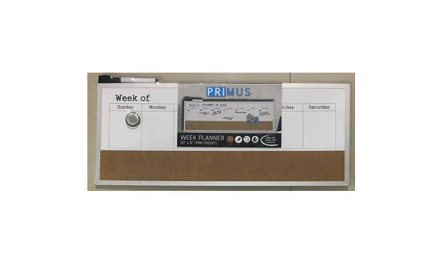 Wonderbaarlijk Primus Board Week Planner | Harvey Norman Malaysia WX-03