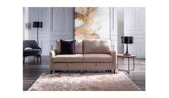 Valencia Nappa Fabric 2 Seater + Pull Sofabed