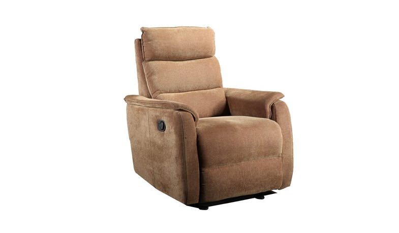 CHEERS Easy Clean Fabric Rocker Fabric Recliner