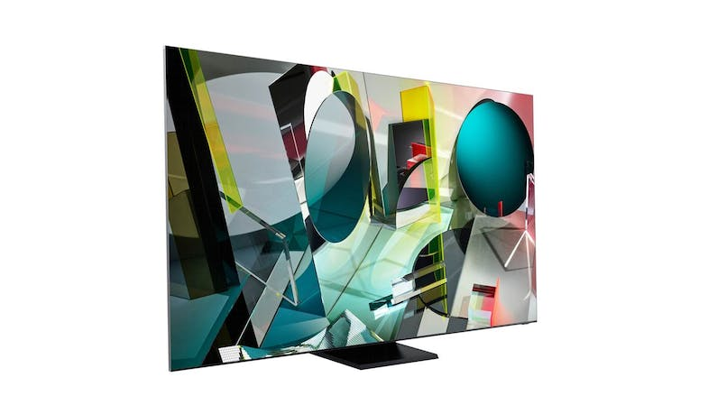 Samsung QA-75Q950TS QLED 8K Smart TV (Left)