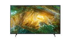 Sony 65-inch X80H Series 4K Ultra HD LCD Smart TV (Front)