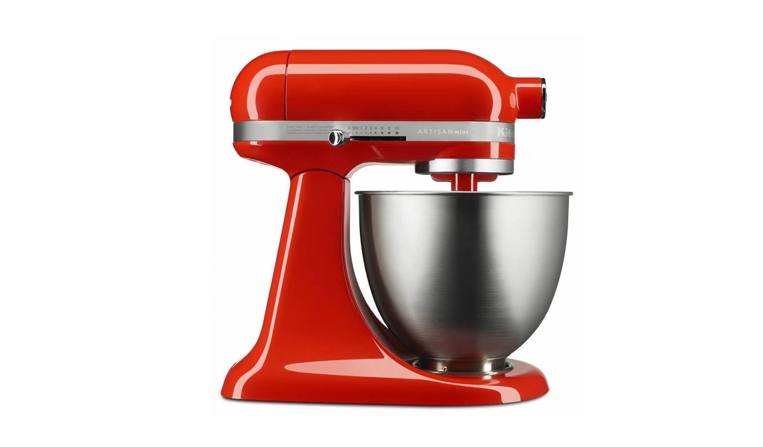 Kitchenaid Artisan Mini 3 3 L Quart Tilt Head Stand Mixer Hot Sauce Harvey Norman Malaysia