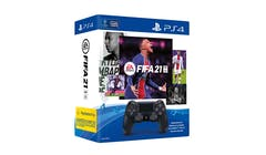 Sony DualShock 4 Wireless Controller EA SPORTS FIFA 21 Voucher Bundle
