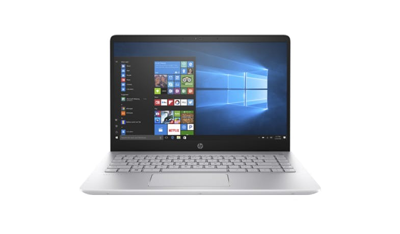 HP Pavilion 14-BF105TX i7 W10 Notebook - Silver (Demo unit)