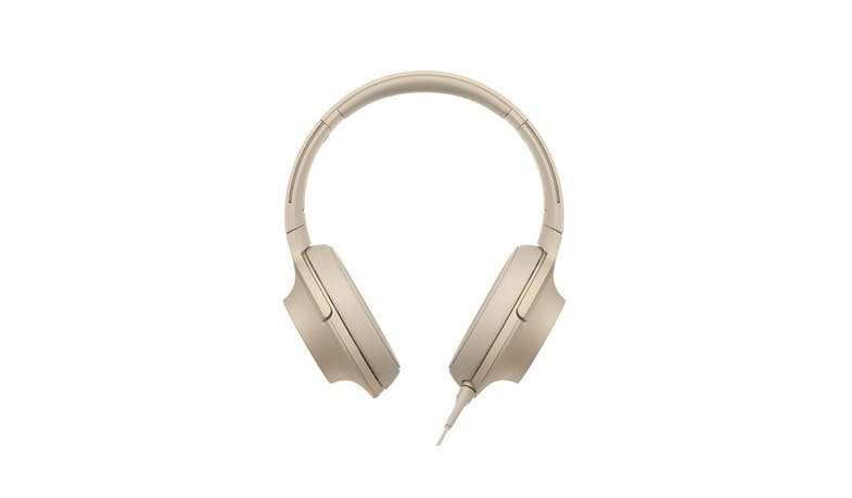 Sony MDR-H600 Headphone - Gold 02