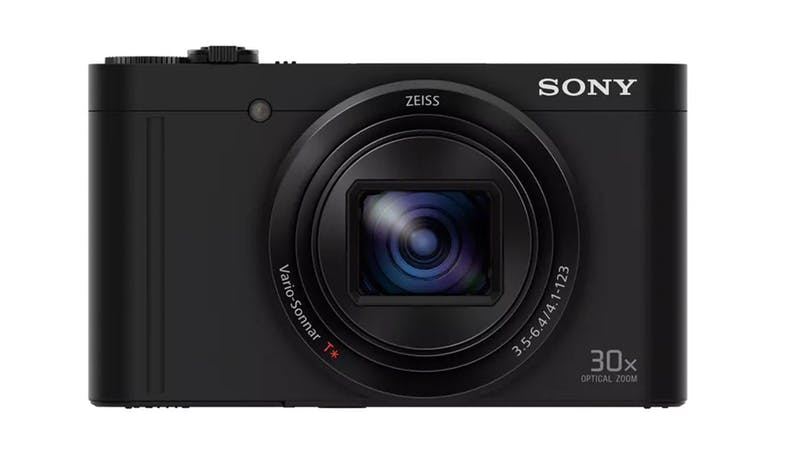 Sony Cyber-Shot W Series WX500 Digital Camera with 30x Optical Zoom - Black (Demo Unit) - IMG 1