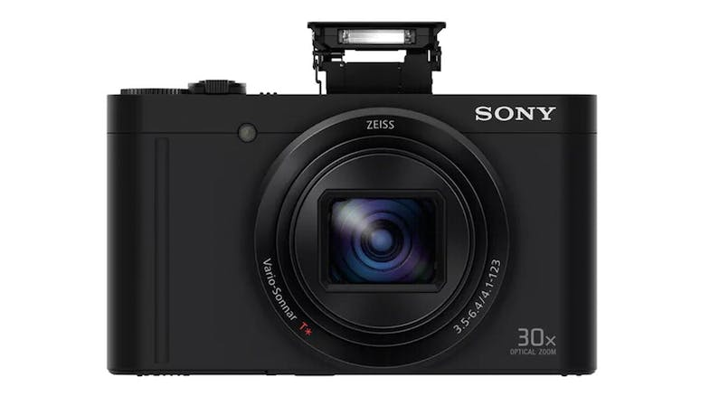 Sony Cyber-Shot W Series WX500 Digital Camera with 30x Optical Zoom - Black (Demo Unit) - Unit 2